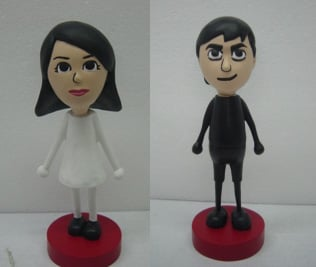 Edible Geek: Personalized Mii Cake Decorations