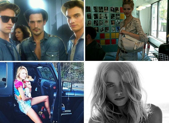 Celebrity Fashion Twitter Pictures from Brooklyn Decker, Rachel Zoe, Bar Refaeli, Donatella Versace and More!