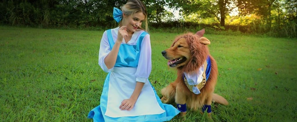 Beauty and the Beast Halloween Costume For Dogs