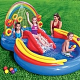 Intex Inflatable Pool Water Play Rainbow Ring Center