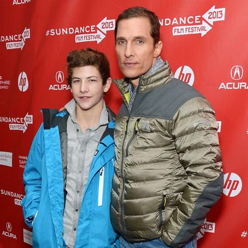 Matthew McConaughey Talks Lance Armstrong at Sundance