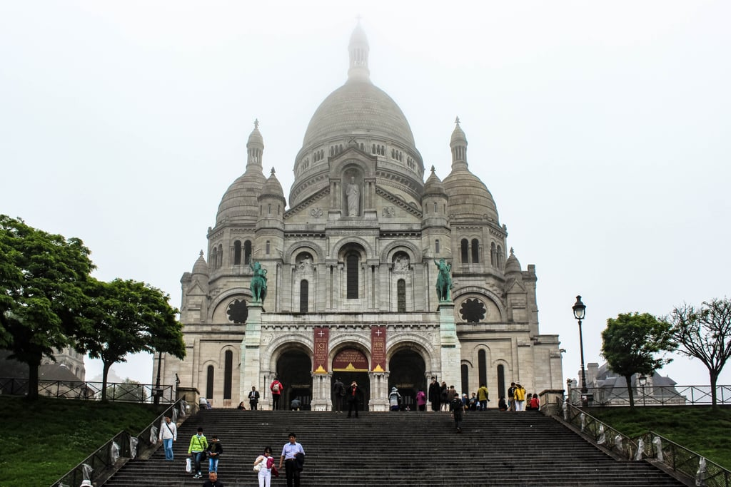 the basilica of the sacred heart of paris is also another must see commonly known - Paris Must See