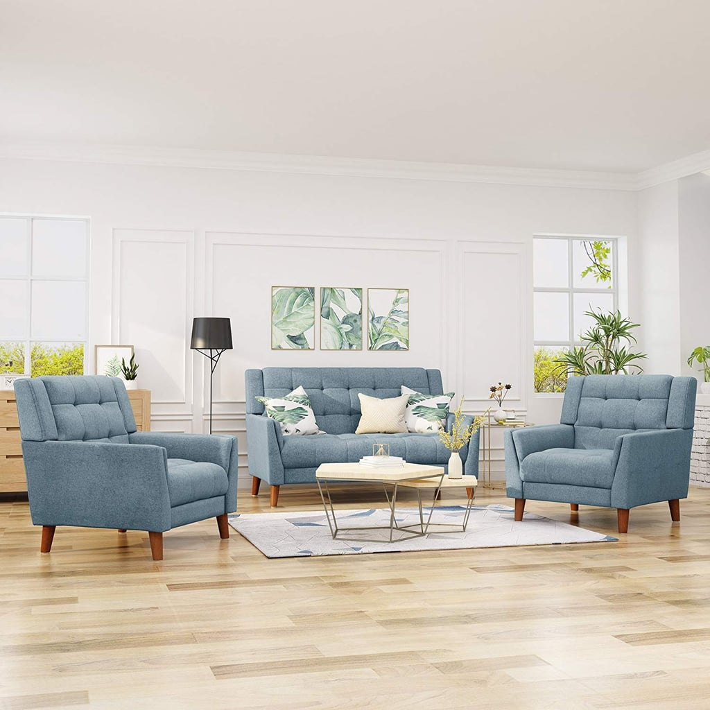 Mid Century Modern Living Room Furniture: Christopher Knight Home Evelyn Mid Century Modern Set