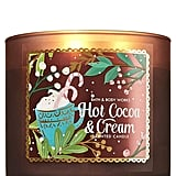 Bath & Body Works Hot Cocoa and Cream 3-Wick Candle