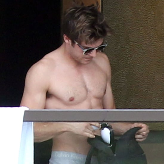 Shirtless Zac Efron Pictures