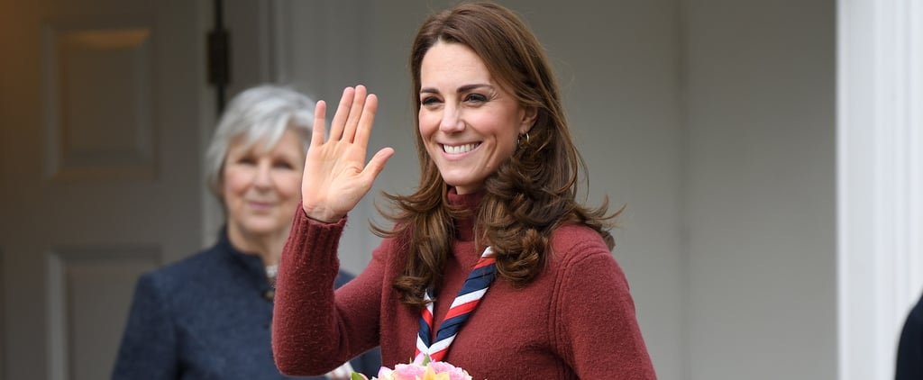 Kate Middleton's J.Crew Sweater For Scouts Visit March 2019