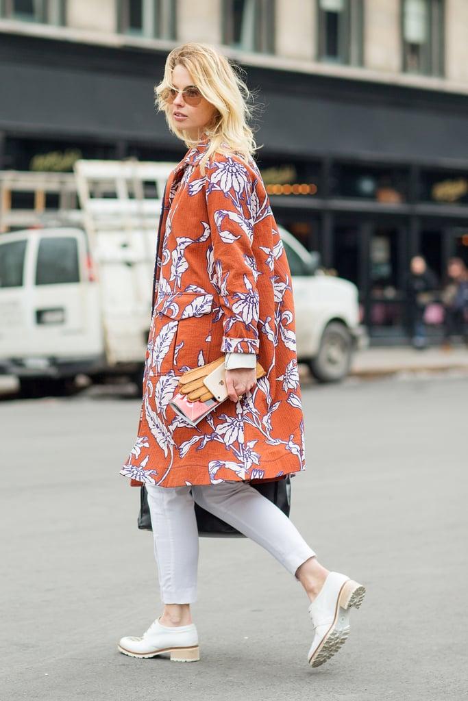 New York Fashion Week Street Style Fall 2015 Popsugar