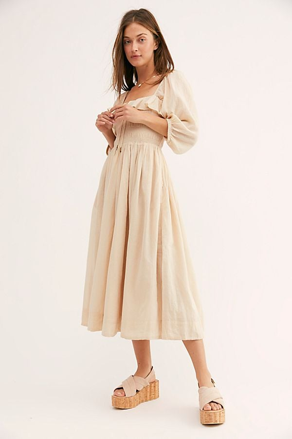 69df876590c0 Oasis Midi Dress | Best Travel Dresses | POPSUGAR Fashion Photo 38