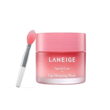 Laneige Lip Sleeping Mask ($20), and our Lip Bloom Lip Balm