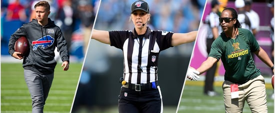 History Made: 2 Women Coached and One Reffed in an NFL Game