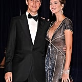 Ivanka Trump and her husband posed together at the event.