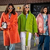 Get Your Friends to Wear Colorful Coats With You