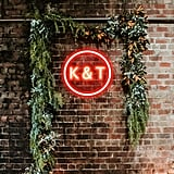 Initials Neon Wedding Sign