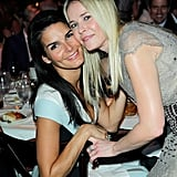 Chelsea Handler linked up with Angie Harmon for a charitable evening in Beverly Hills.