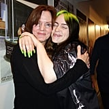 Billie Eilish With Her Mom Maggie Baird at Groundlings Show