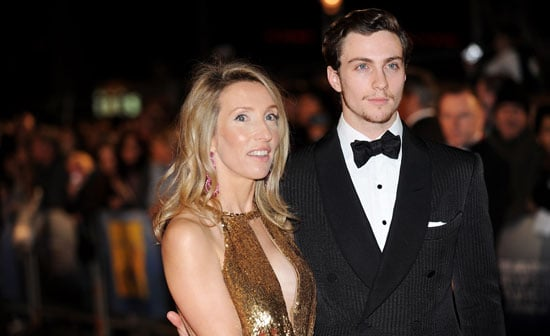 Photos of Engaged Couple Aaron Johnson and Sam Taylor-Wood