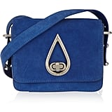 Kenzo Suede Shoulder Bag ($411, originally $685)