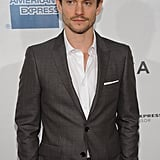Hugh Dancy stepped onto the red carpet for the premiere of Hysteria at the 2012 Tribeca Film Festival.