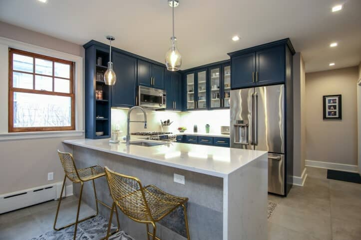 Blue Kitchens | Best Kitchen Designs 2019 | POPSUGAR Home ...