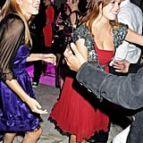 Princess Beatrice and Princess Eugenie let loose.