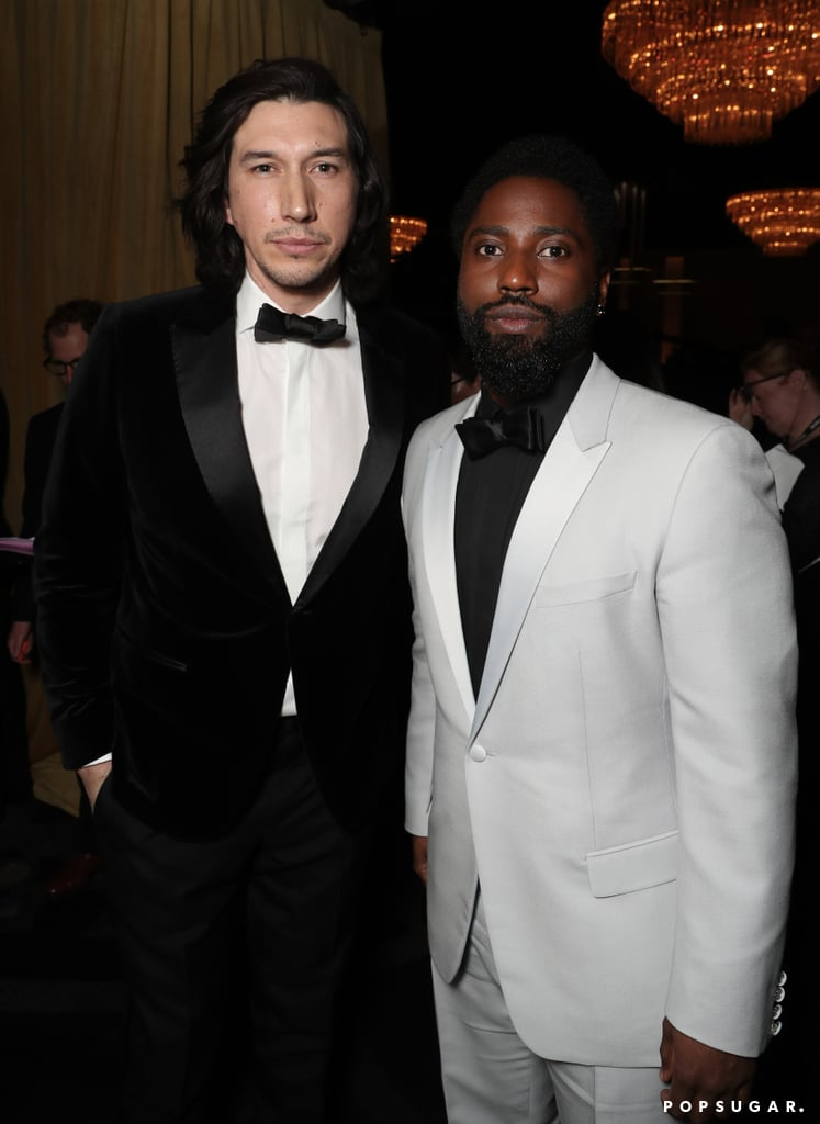 Pictured: Adam Driver and John David Washington