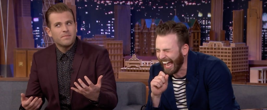 """Chris and Scott Evans Play """"Know Your Bro"""" on Jimmy Fallon"""