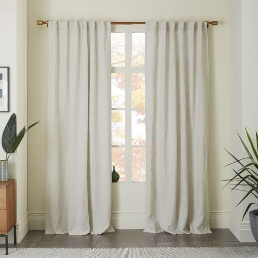 Madeline: Belgian Flax Linen Curtain