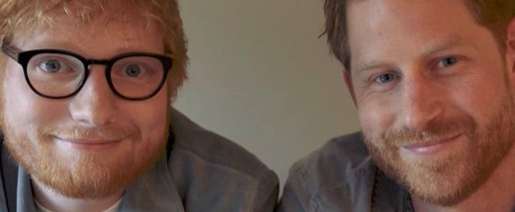 Prince Harry and Ed Sheeran World Mental Health Day Video