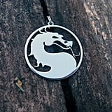 Silver Mortal Kombat Necklace ($17)