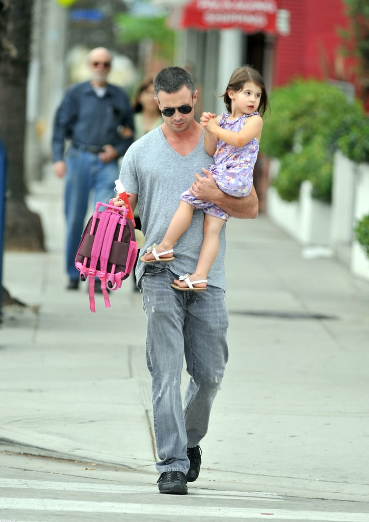 Freddie Prinze Jr. took Charlotte Prinze to school.