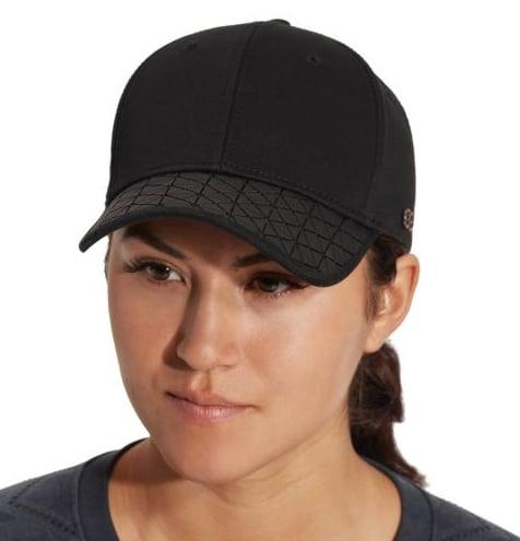 Rubber Print Visor Hat