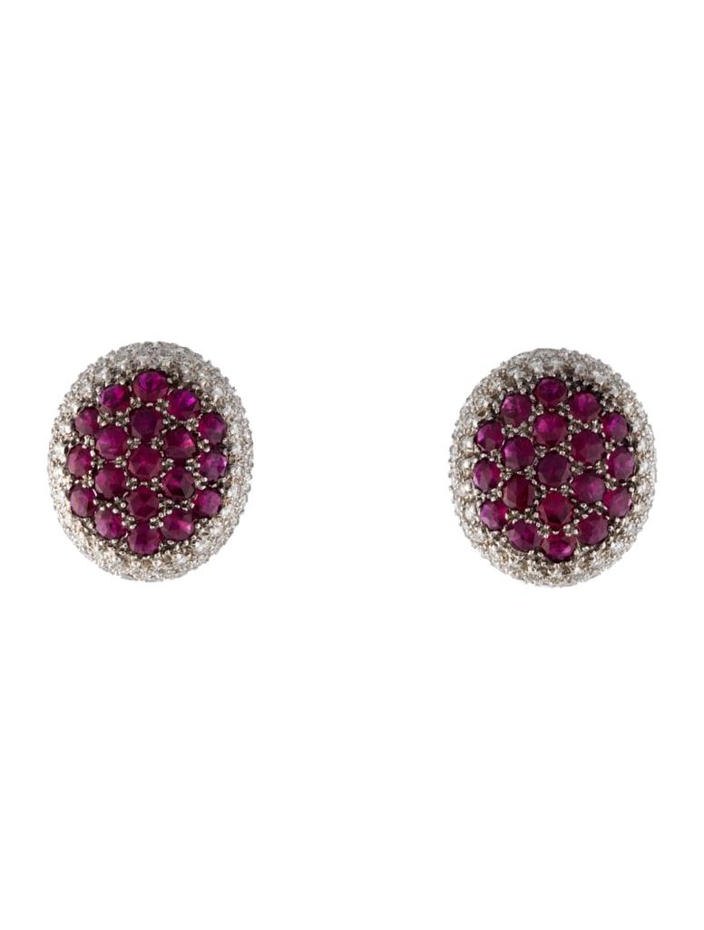Our Pick: Mouawad Rosette Oval Earrings