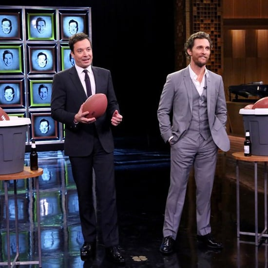 Matthew McConaughey Plays Facebreakers With Jimmy Fallon