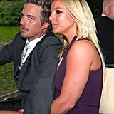 Britney Spears and Jason Trawick headed to the Fox Upfronts party in NYC.
