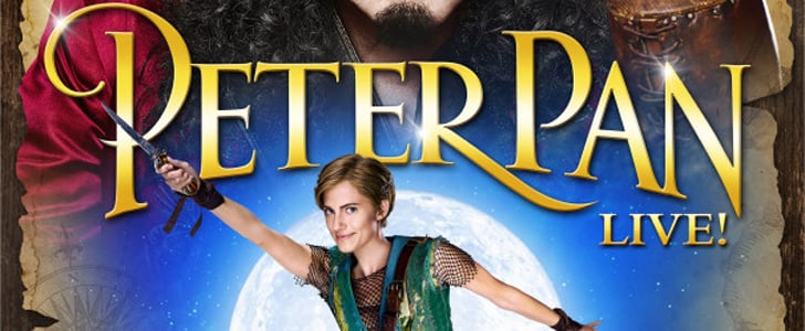 Allison Williams Takes Flight in the First Poster For Peter Pan Live!