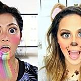 Snapchat Filters Halloween Makeup Tutorial