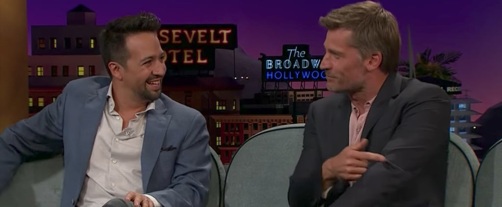 Nikolaj Coster-Waldau on The Late Late Show August 2017