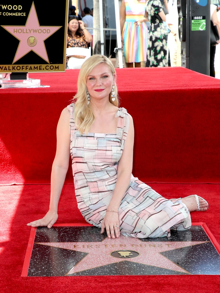 Kirsten Dunst Celebrates Walk of Fame Star With Fiancé Jesse Plemons and Their Sweet Son, Ennis