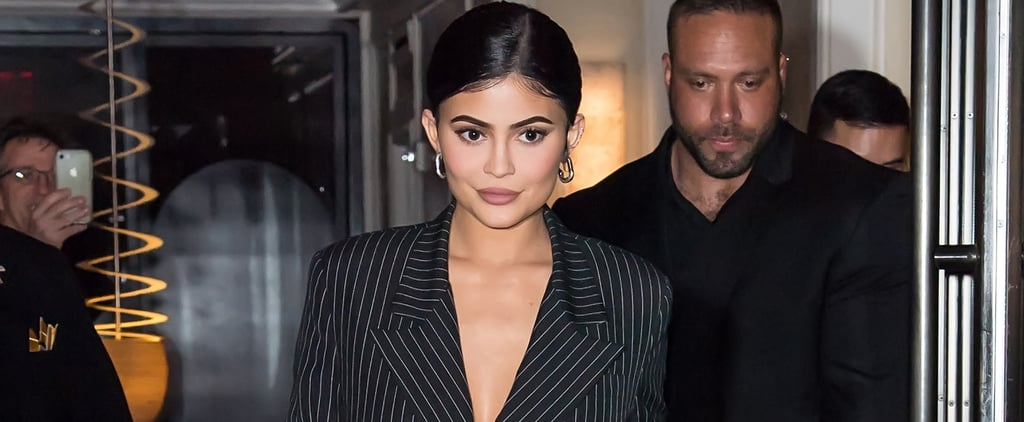 Kylie Jenner Wears Fishnet Pants May 2019