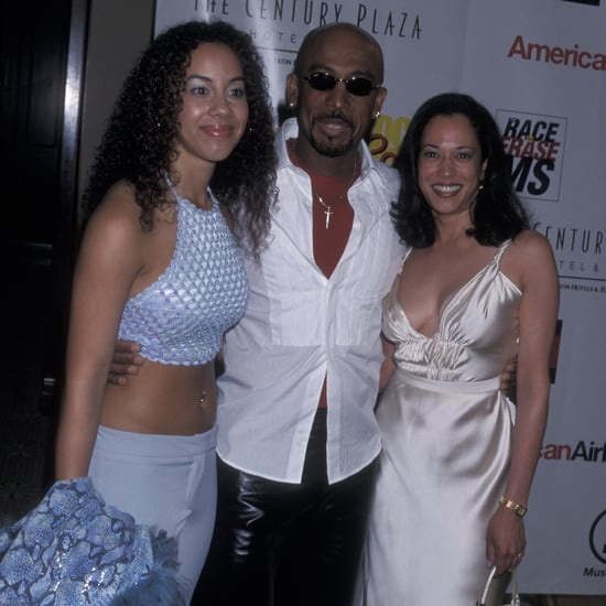 Kamala Harris's White Silk-Satin Midi Dress from 2001