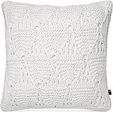 "Tommy Hilfiger Bar Harbor White 18"" Square Decorative Pillow ($51, originally $102)"