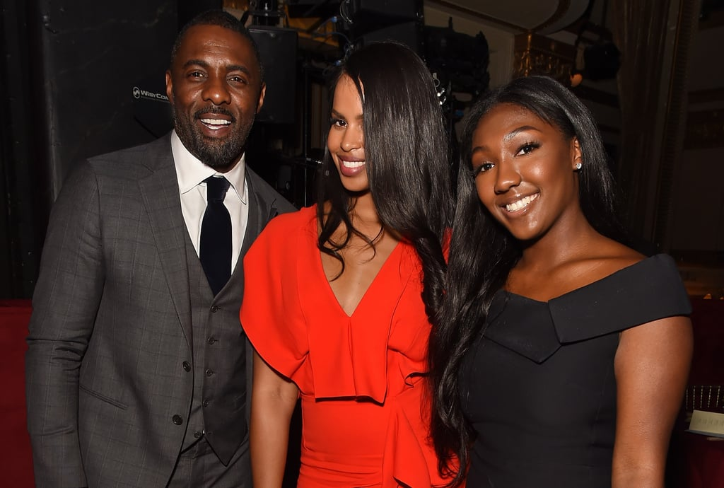 Idris Elba Turned an Award Show Into a Fun Night Out With His Fiancée and His Daughter