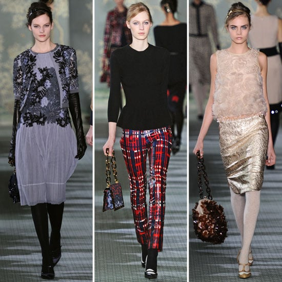 Review and Pictures of Tory Burch 2012 Fall New York Fashion Week Runway Show