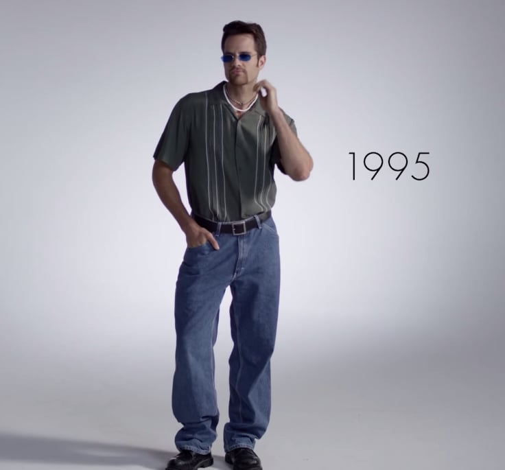 1995 | 100 Years of Men's Fashion Video