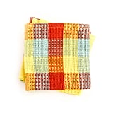Lemon Check Dishcloths