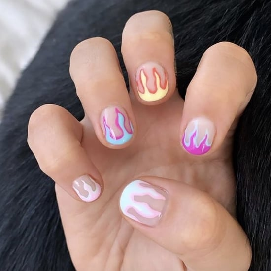 Celebrity Nail Art For Summer