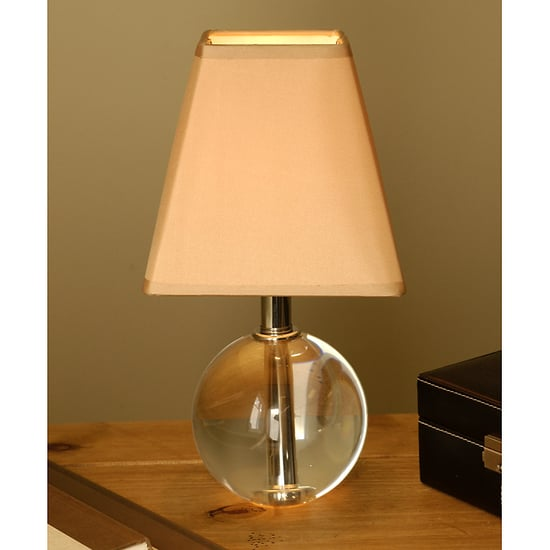 Steal of the Day: Petite Sphere Crystal Table Lamp