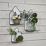3-Piece Metal Wall Plant Holders