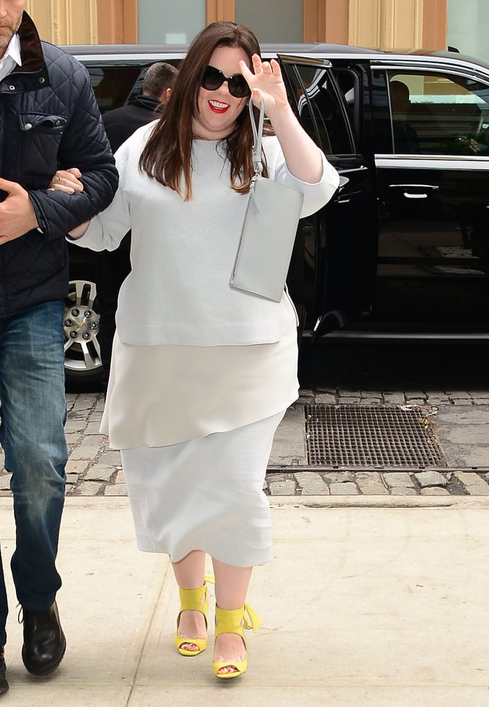 Youll Want to Buy Melissa McCarthys Zara Shoes as Soon as You See Them