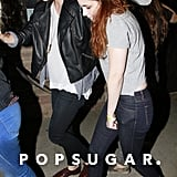 Kristen Stewart, Taylor Lautner, and Katy Perry's assistant, Tamra Natisin, caught a Marcus Foster concert together in LA.